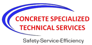 concrete specialized technical services logo